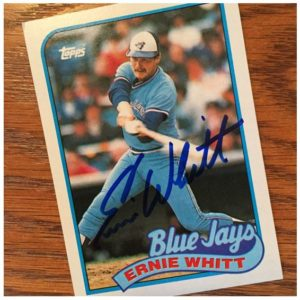 Ernie Whitt TTM Success