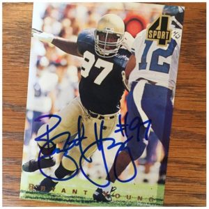 Bryant Young TTM Success