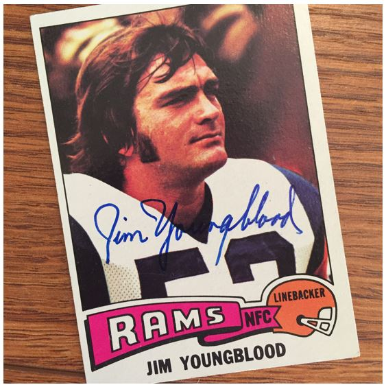 Jim Youngblood TTM Success