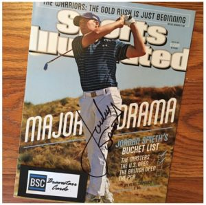 Jordan Spieth TTM Success