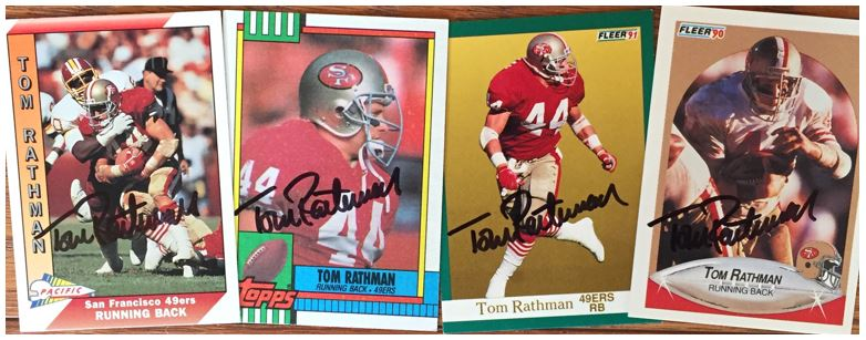 Tom Rathman TTM Success