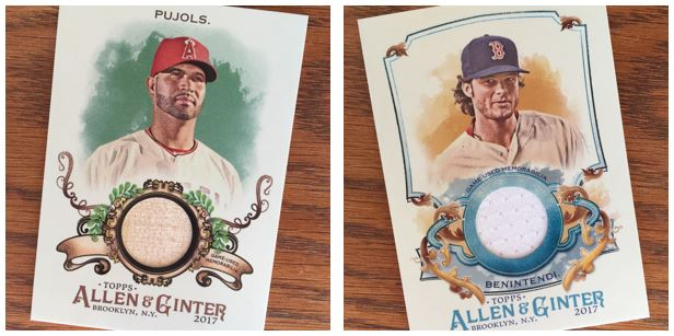 2017 Allen & Ginter Hits