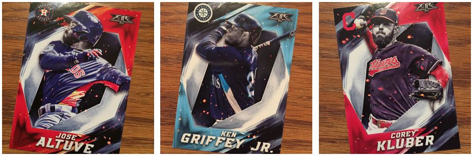 2017 Topps Fire Base Cards