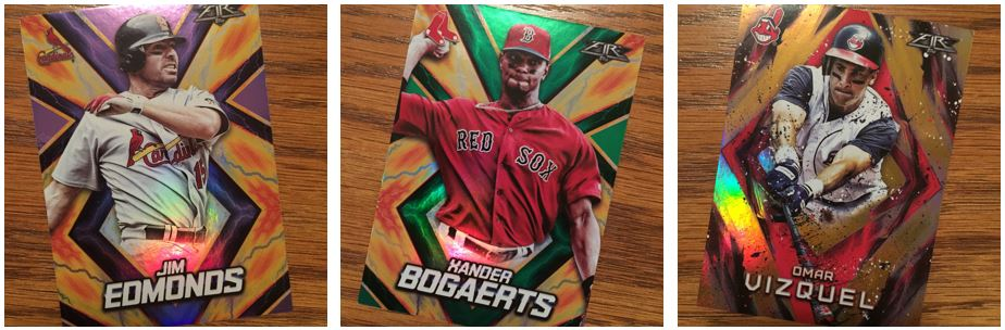2017 Topps Fire Parallels