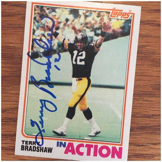 Terry Bradshaw TTM Success