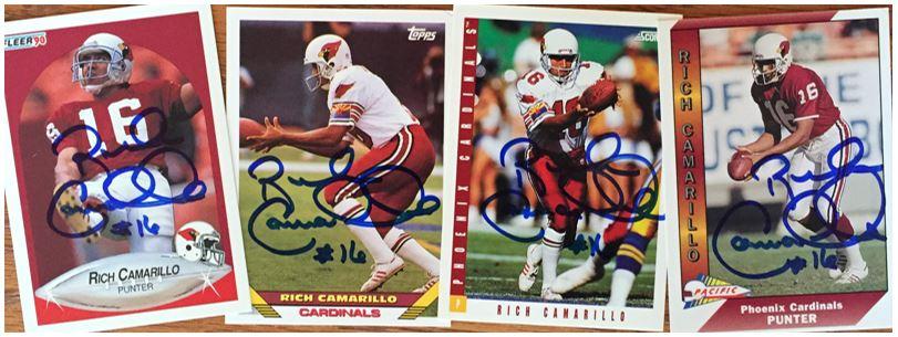 Rich Camarillo TTM Success
