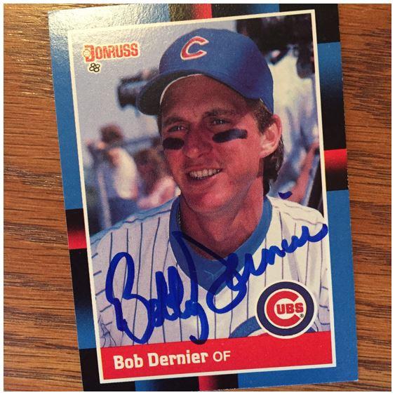Bob Dernier TTM Success