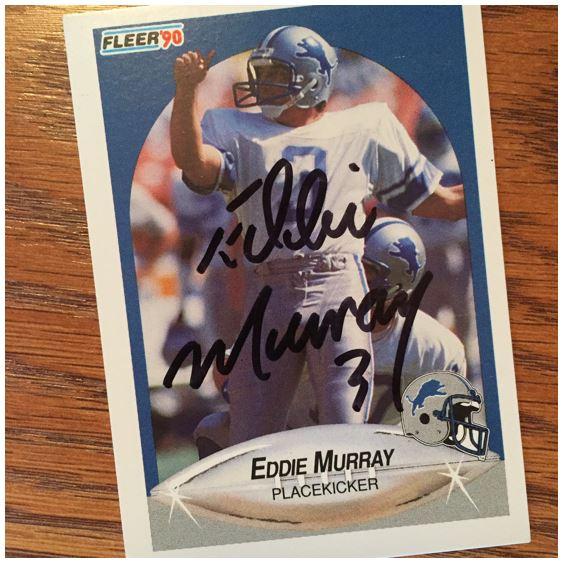 Eddie Murray TTM Success