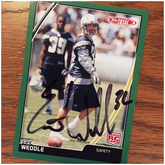 Eric Weddle TTM Success