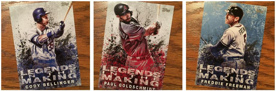 2018 Topps Series 1 Legends in the Making Insert