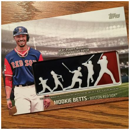 2018 Topps Series 1 Players Weekend Insert