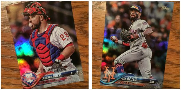 2018 Topps Series 1 Rainbow Foil Parallels