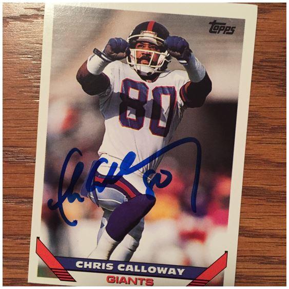 Chris Calloway TTM Success