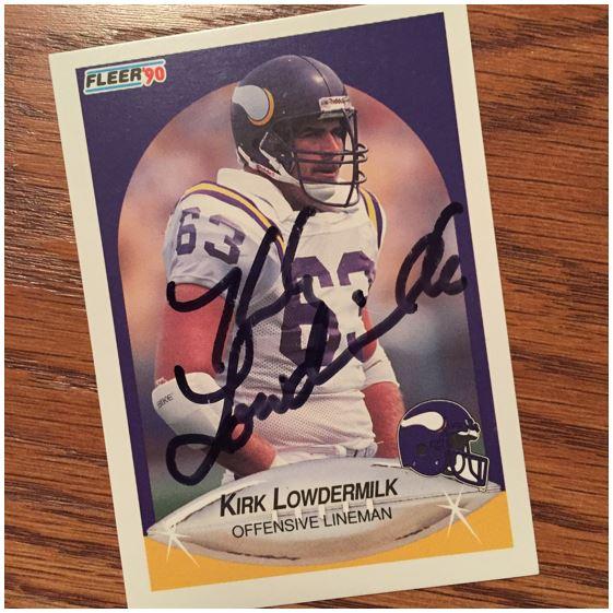 Kirk Lowdermilk TTM Success