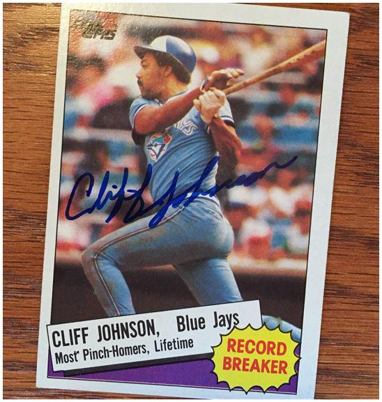 Cliff Johnson Ttm Success Bravestarr Cards