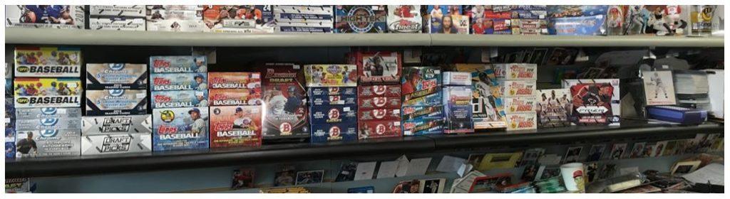 sports trading card shops near me